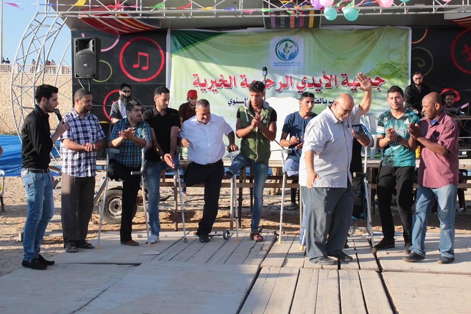 الأيدي الرحيمة تنظم مهرجان فرحة عيد للجرحى وذويهم