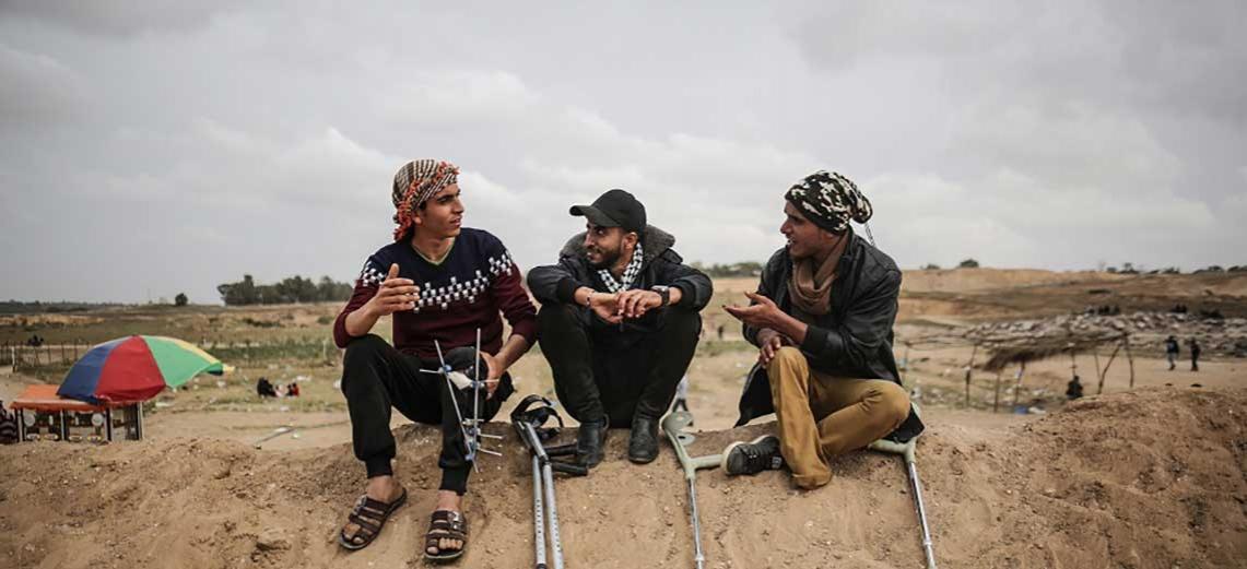 جوان ليو: إصابات جرحى غزة تفوق قدرات جميع المؤسسات